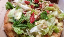 Pizza Salad Tasty and Crispy