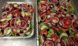 Salads from Catering Service