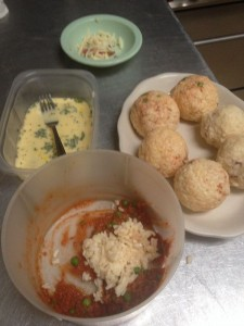 Sicilian Rice Balls Ingredients